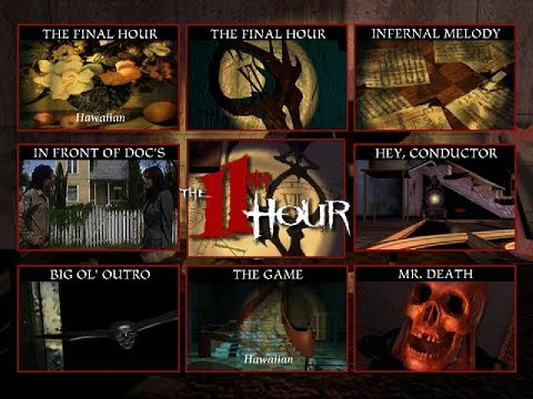 The 11th Hour ingame music player (MS-DOS, 1995)