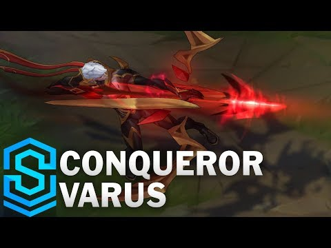 Conqueror Varus Skin Spotlight - League of Legends