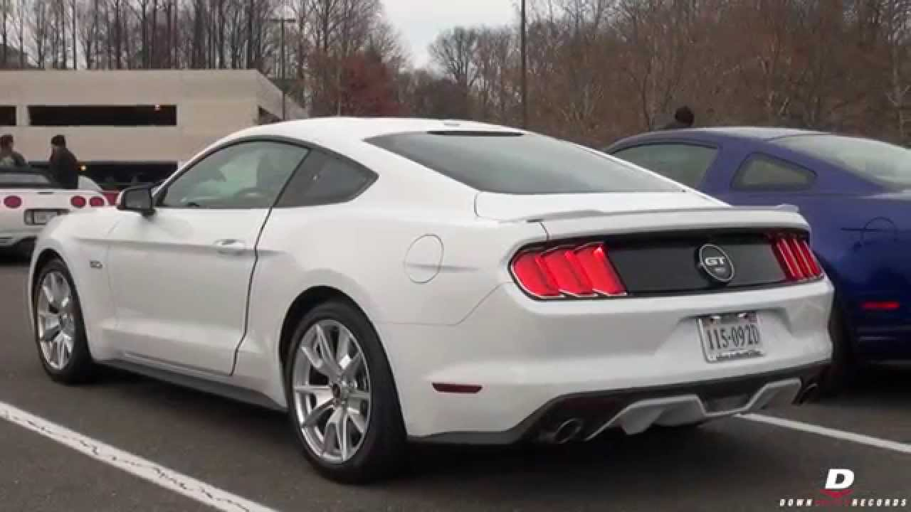 2015 Ford Mustang 50th Anniversary Package  Walk  YouTube