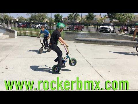 ROCKER MINI BMX TAKEOVER!