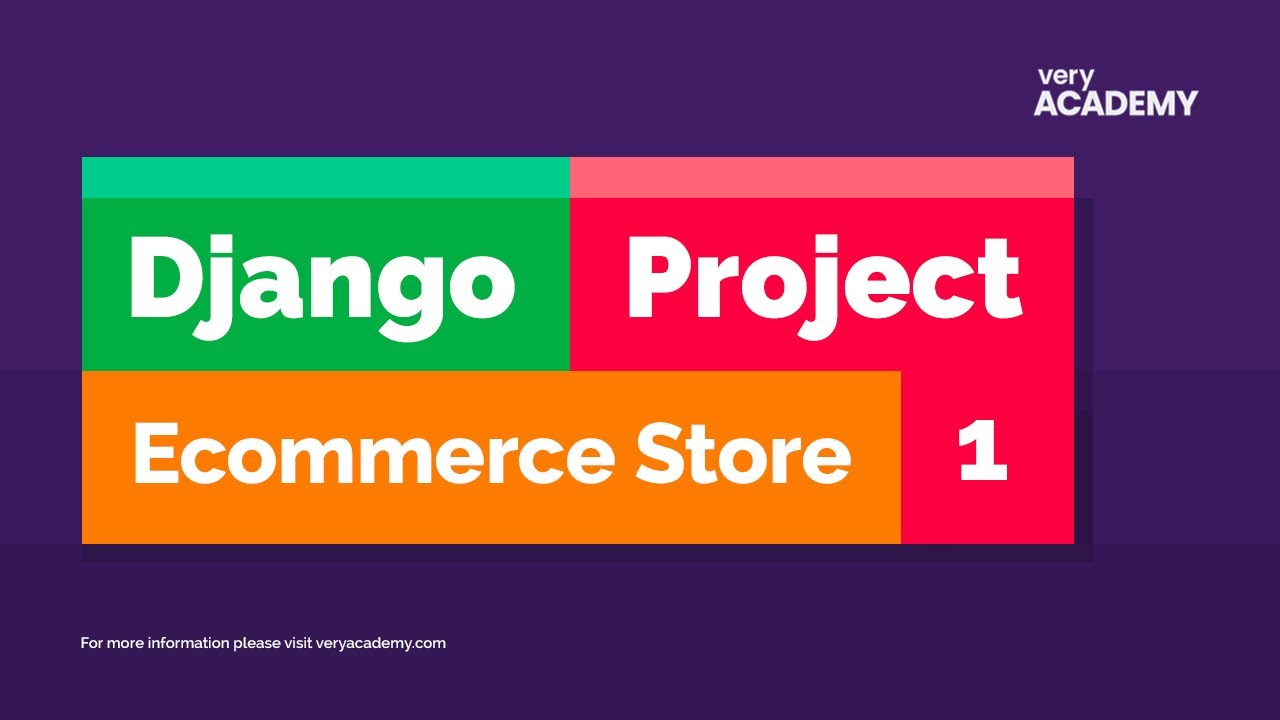 Django Project - Ecommerce Store (2021)  - Building models, views and testing