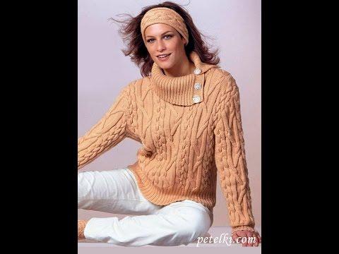 Летние Вязаные Кофты Спицами - фото 2017 / Summer Knitwear Sweatshirts spokes photo