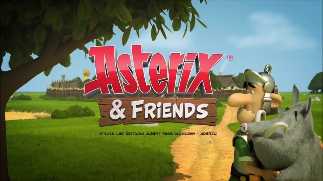 Asterix And Friend