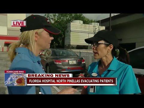 Florida Hospital North Pinellas evacuating patients