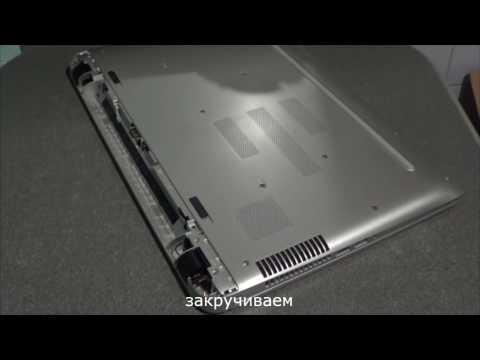 замена HDD на SSD в ноутбуке, увеличение оперативной памяти ноутбука HP Pavilion 17 G109ur
