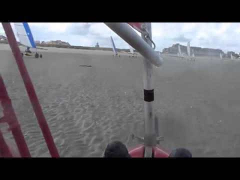 Char A Voile A Cabourg 23 Juillet 2011 Youtube