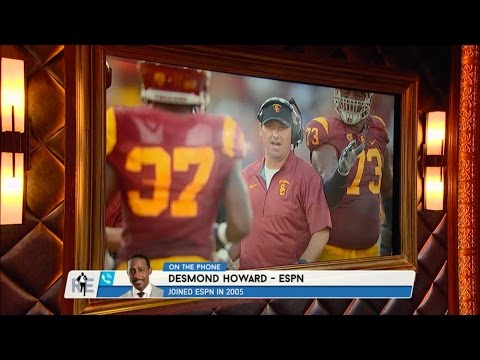 Desmond Howard of ESPN Talks Steve Sarkisian - 10/12/15