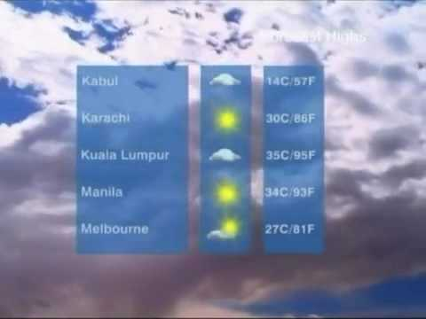 CNN International - World Weather (2010)
