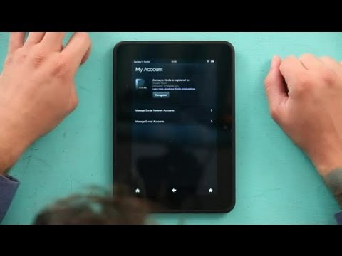 How to Combine Books on Two Kindle Accounts : Kindle Tips