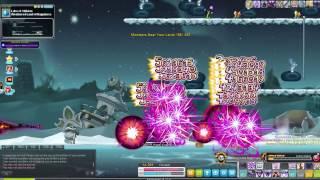 Maplestory - Dark Knight - 5th job skill - Dark Spear