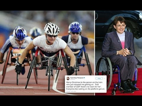 Baroness Tanni Grey Thompson stopped from boarding a train