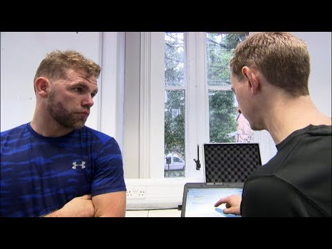 Billy Joe Saunders new training REVEALED | Sports Science Lab at Sheffield Hallam University