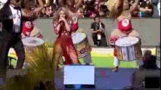 Closing Ceremony FIFA World Cup 2014 LIVE Shakira   La La La Brazil 2014 ft  Carlinhos Brown