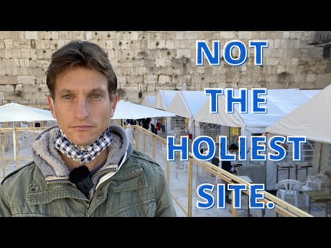 The Western Wall Is NOT The Holiest Site For Jews (NOT Clickbait)
