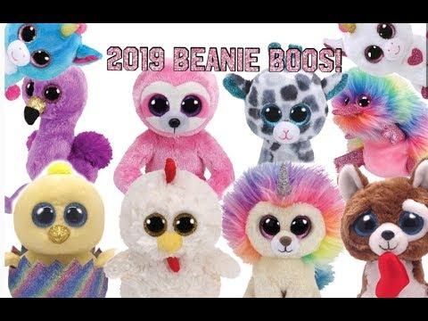 New Beanie Boos 2020 NEW 2019 BEANIE BOOS!   YouTube