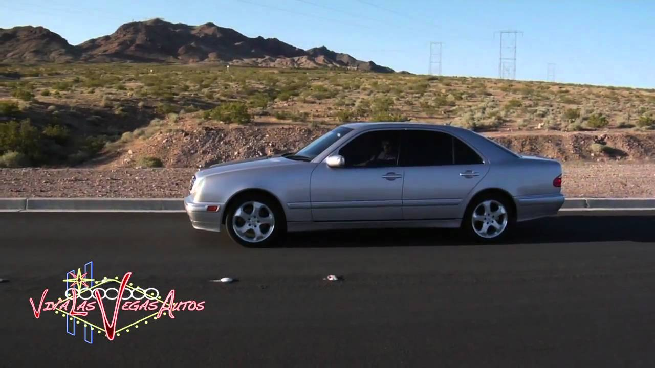 2000 Mercedes Benz E320 Test Drive Viva Las Vegas Autos   YouTube