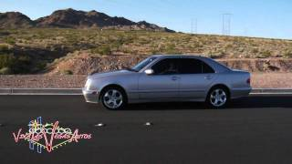 2000 mercedes benz e320 test drive viva las vegas autos