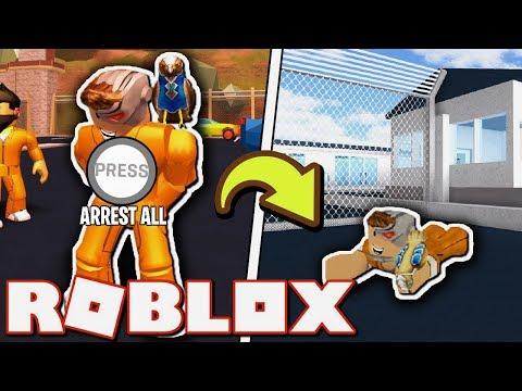 ყველას ვაპატიმრებთ ერთი კლიკით #2 Roblox Jailbreak qartulad