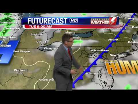 Eyewitness News WBRE/WYOU Weather Studio Tour