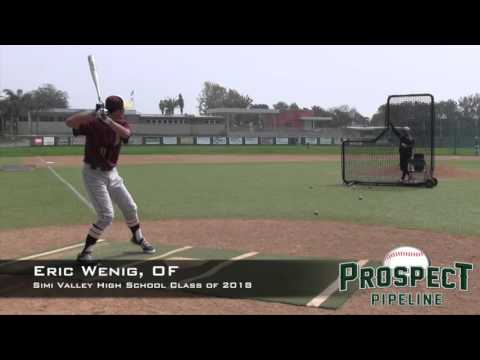 Eric Wenig Prospect Video, OF, Simi Valley High School Class of 2018