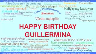 Guillermina   Languages Idiomas - Happy Birthday