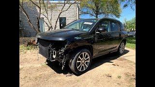 Аукцион «Копарт» Авто В Пределах 5000$. 2016 Jeep Compass. Авто Из Сша.