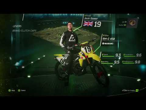 Monster Energy Supercross - The Official Videogame **CUSTOMISATION VIDEO**