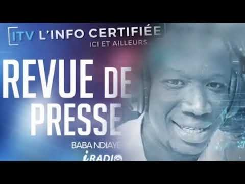 REVUE DE PRESSE IRADIO DU MARDI 01 JUIN 2021 AVEC BABA NDIAYE