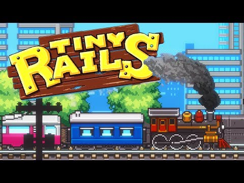 Unlocking More RARE TRAIN Cars! - Tiny Rails the Train Management Tycoon! - Tiny Rails Gameplay