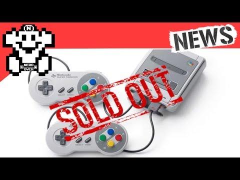 SNES Mini ist bestellbar .. unnnnd ausverkauft - #NerdNews 146