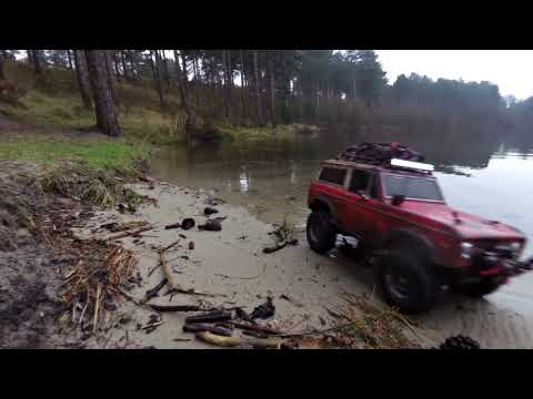 MST CMX FORD BRONCO // winter lake run