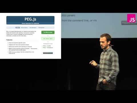 Patrick Dubroy: Parsing, Compiling, and Static Metaprogramming -- JSConf EU 2013