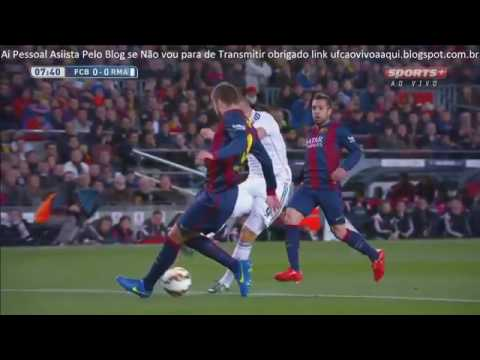 Barcelona vs  Real Madri-Jogo Completo- Campeonato Espanhol 2017