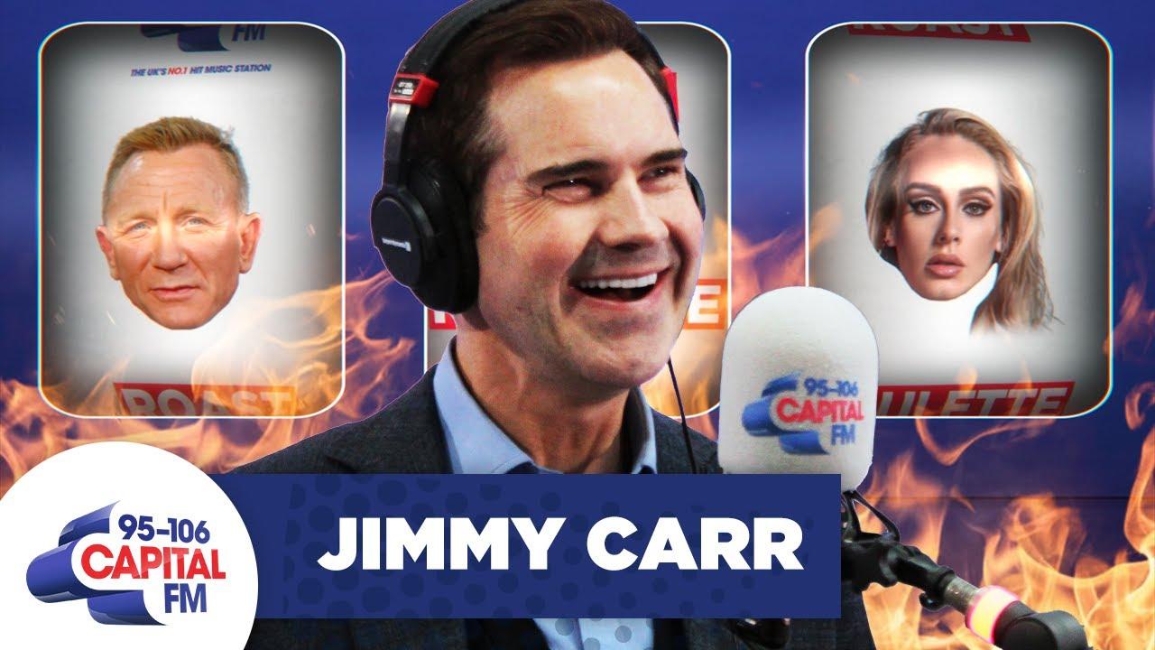 Jimmy Carr Roasts Adele, Tom Daley & Daniel Craig | Capital