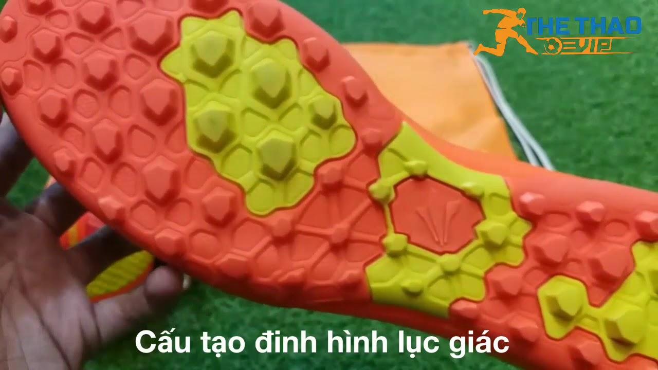 Giày đá bóng AKKA control 2 Cam [Giày đá bóng Thể Thao Vip]