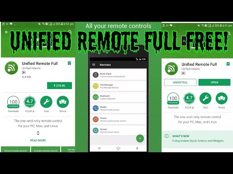 Unified Remote full Paid Free Latest (link in description)