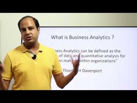 Basics Of Business Analytics Part-1