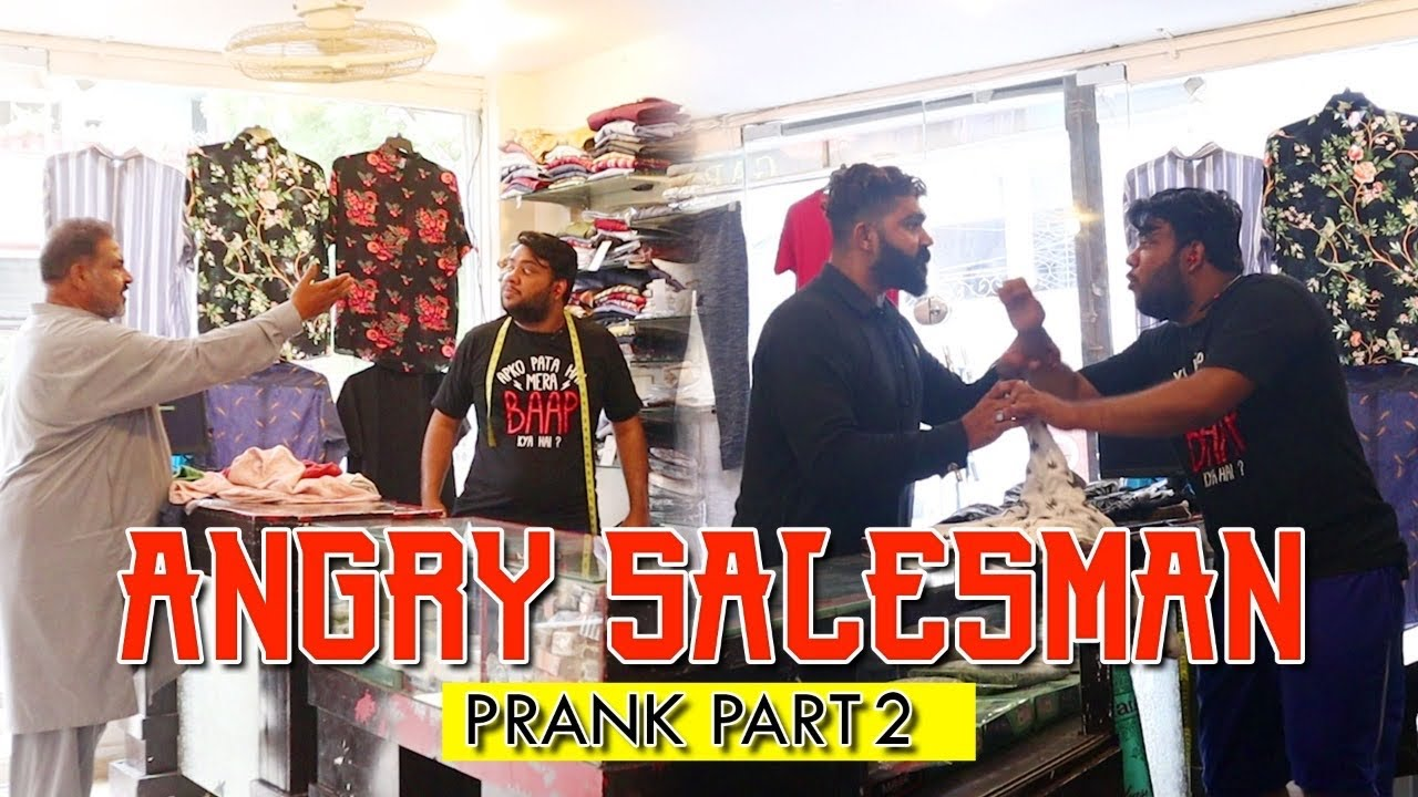 | Angry Salesman Prank Part 2 | By Nadir Ali in | P4 Pakao | 2021