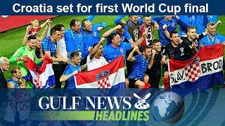 Croatia set for first World Cup final - GN Headlines