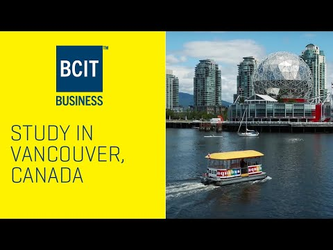 Study In Vancouver, Canada At BCIT Business