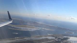jetblue a321 takeoff from jfk mint class view
