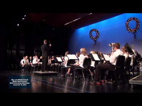 2012 - 12 Bay Lane Middle School Band - Ring of Honor