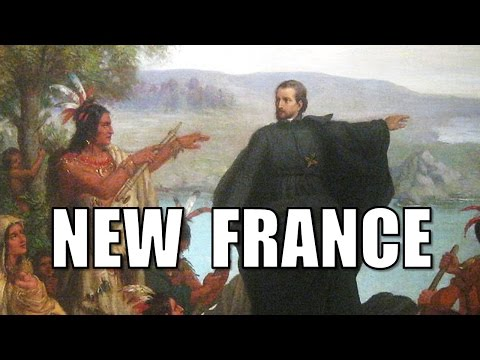French Colonization Of North America (New France Colonial America APUSH) @TomRichey