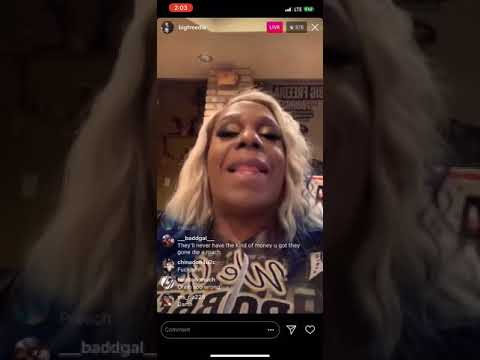 BIG FREEDIA ROBBED AND CRIES ON IG LIE 😢