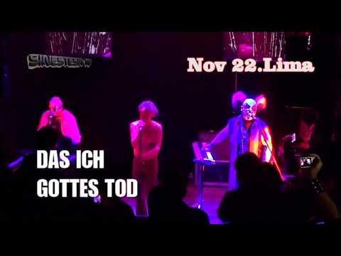 Das Ich - Gottes Tod (HD) Lima Perú (Sinestesia TV / live / 2017)