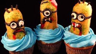 Zombie Minions Cupcakes - With Yoyomax12