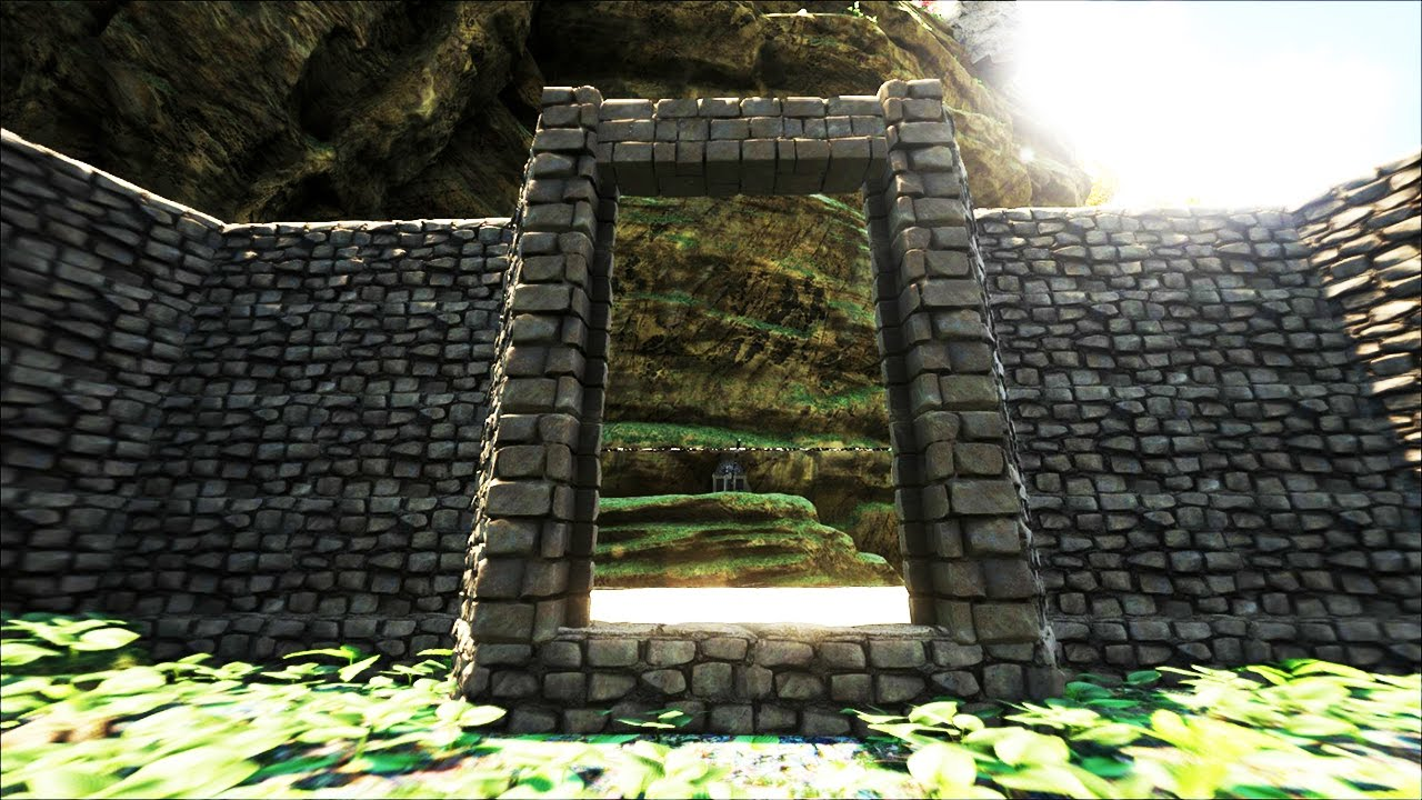 The Base Walls Ark Survival Evolved Ep 23 Youtube