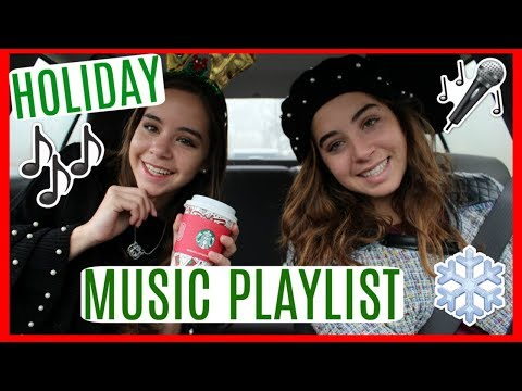 My FAVORITE CHRISTMAS SONGS/HOLIDAY PLAYLIST! Drive & Jam with us!