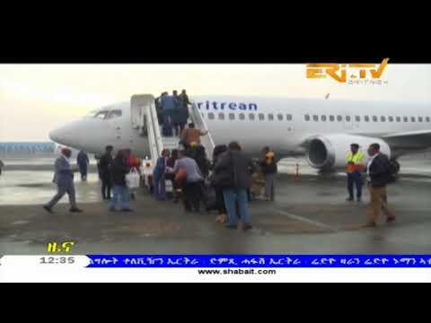 ERi-TV, Eritrea: Eritrean Airlines First Flight To Ethiopia