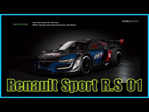 gt sport beta renault sport r s 01 gt3 willow springs international raceway ps4 pro youtube. Black Bedroom Furniture Sets. Home Design Ideas